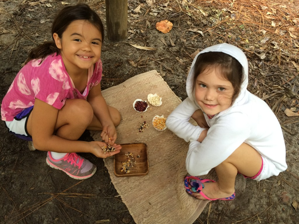 Sorting beans and seeds with Isabella Grancagnolo